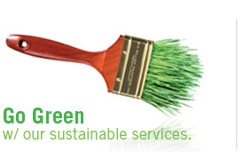 go green with our green services